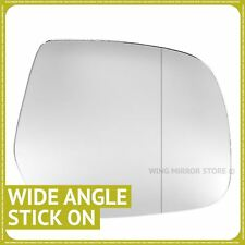 Right hand driver side for Ford Ranger 2007-2011 Wide Angle wing mirror glass