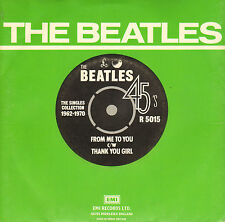 """BEATLES - From Me To You / Thank You Girl (1976 UK VINYL SINGLE 7"""" REISSUE)"""