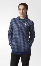 $110 Adidas Boston Marathon Tuesday Morning Women's Size XL Houndstooth Jacket