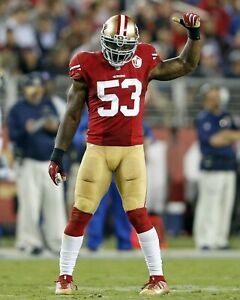 NAVORRO BOWMAN 8X10 PHOTO SAN FRANCISCO 49ers FORTY NINERS PICTURE NFL FOOTBALL