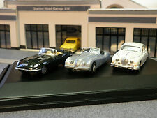 Oxford Diecast 76set06 Jaguar Set 1/76th Scale for OO gauge Railway layout