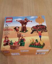 NEW Lego Thanksgiving Set 40261 Wagon Tree Scarecrow 133 Pieces 2017