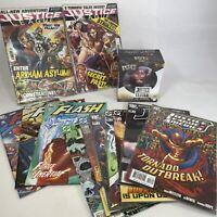DC Justice League & Flash Funko Dorbz Flash Figure & x12 Comic Books Bundle