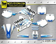Yamaha YZ 250 1991 1992 graphics decals stickers kit Moto StyleMX