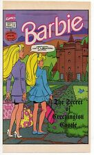 BARBIE HALLOWEEN SPECIAL ED. 1993 Promo Issues #1 and #2 RARE!