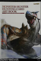 JAPAN Monster Hunter Hunting Card Art Book Capcom