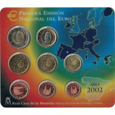 [#93539] Spain, Euro Set of 8 coins, 2002