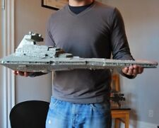 HUGE Star Wars Imperial Star Destroyer Detailed Hanger & Lambda Class Shuttle