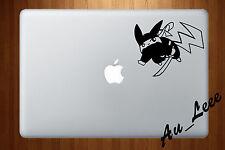 Macbook Air Pro Vinyl Skin Sticker Decal Pokemon Go Pikachu Ninja Cute M554
