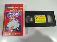 Cenicienta Walt Disney - VHS Cinta Tape Ingles con Subtitulos en Ingles - 2T
