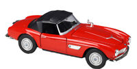 Welly 1:24 BMW 507 Soft Top Diecast Model Racing Car NEW IN BOX Red