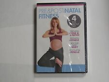 Pre  Post Natal Fitness (DVD, 2013, 4-Disc Set)
