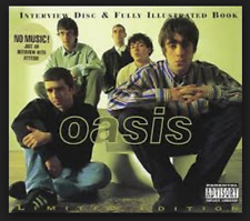 Oasis Interview Ltd Ed Picture Disc 120 Page Book Discography *New Sealed** Liam