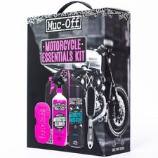 Muc Off Motorcycle Essentials Cleaning 5 Piece Kit Gift Set Includes 1L Cleaner