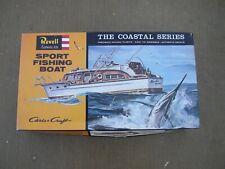 Revell Sport Fishing Boat Plastic Model Kit, Coastal Series