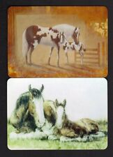 WIDE Swap/Playing Cards - Lovely Mares & Foals x 2