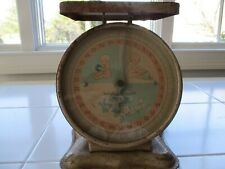Vintage Family Baby Nursery Scale 30 Pounds In Working Condition-Metal