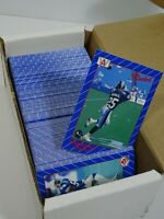 1991 ALL WORLD CANADIAN FOOTBALL TRADING CARD LOT CFL
