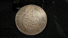 AUSTRIA THALER 1696  LEOPOLD I  DAV-3245A  HALL MINT  OUTSTANDING DETAILS!!