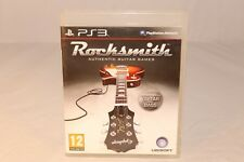 ROCKSMITH SONY PLAYSTATION GUITARACDE PS3 EUROPEAN PAL LEARN TO PLAY A GUITAR