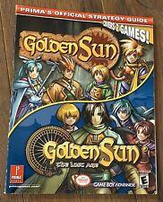 2003 Prima's GOLDEN SUN & THE LOST AGE 2 GAME STRATEGY GUIDE BOOK Nintendo GBA