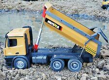 Huina 1573 10 00004000  Channel Remote Control 1:14 Dump Truck