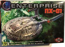 Polar Lights Enterprise NX-01 Snap 1/1000 FS NEW Model Kit 'Sullys Hobbies'