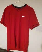 Nike RF Federer US Open 2011 Tennis Crew Shirt Day Session Shirt size M