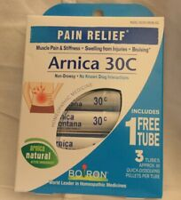 Boiron Pain Relief Arnica 30C 3 Tubes New Dirty Box Only Exp 8/24