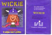 Vanderhout (like panini) Sealed/closed zakje/pochette/wrapper WICKIE de VIKING