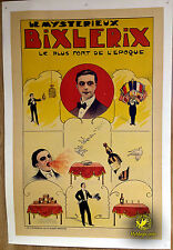 Original Le Mysterieux Bixlerix Lithograph