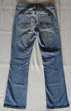 "Womens Seven For All Mankind Jeans Size 26 Boot Cut 29"" Inseam"