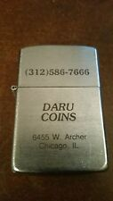 My-Lite Lighter Advertising Daru Coins, Chicago Ill, Nice Finish, Working Cond.