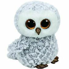 Ty Beanie Boos Medium -owlette The White Owl 22cm Birthday April 20