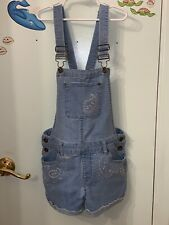 Lucky Brand Teens Kids Overall Blue Jeans Color Size 14 Tall 27��1/2