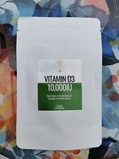Vitamin D3 10000iu - 60 Softgels, Made in the UK
