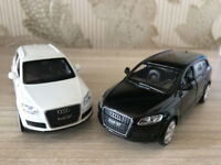 CAIPO 1:43 Audi Q7 SUV Alloy Car Model  Kids Toy Vehicles