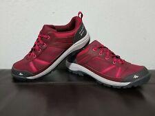 QUECHUA Women's Decathlon red Hiking Shoes Size 9.5