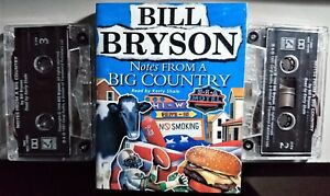 Bill Bryson - Notes From A Big Country. Audiobook Cassettes 1998 Kerry Shale
