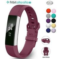 For Fitbit Alta Alta HR Strap Wrist band Secure Buckle Bracelet Fitness Tracker