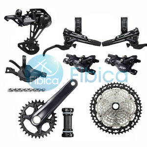 New 2021 Shimano Deore XT M8100 Hydraulic Brake Group Groupset 12 speed 10-51t