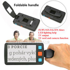 4-32X 5inch Electronic Digital Video Magnifier Reading Aid Eyesight Tool
