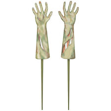 Halloween Zombie Hands Garden Stakes Decoration