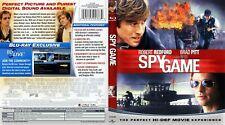 Spy Game (Blu-ray Disc, 2009) Robert Redford Brad Pitt