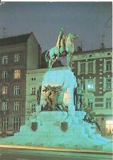 Postcard: Poland - Kraków - Pomnik Grunwaldzki