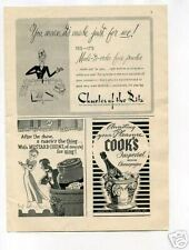Cook's Imperial American Champagne 1950's Original Ad
