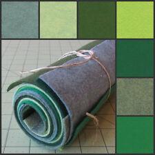 6x12 Wool Felt Sheets - Irish Luck- 7 Sheets of Merino Felt