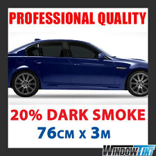 20% Oscuro Humo Pro Auto tintado rollo de película 76cmx3m