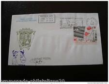 TAAF lettre 21/6/86 - timbre aerien Yvert et Tellier n°95