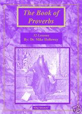 Baptist Sunday School Lessons - Book of Proverbs  KJV
